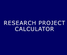 Research Project Calculator