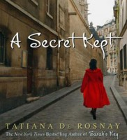 """A Secret Kept"" book cover"