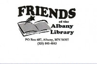 Albany Friends of the Library logo
