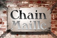 chain maille sign