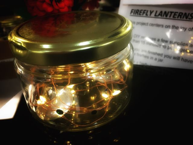 Image of Firefly Lantern craft project
