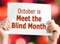 Meet the Blind Month sign