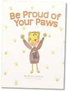 """Be Proud Of Your Paws"" book"