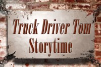 Truck Driver Tom sign
