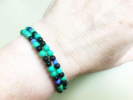 Photograph of Binary Code bracelet